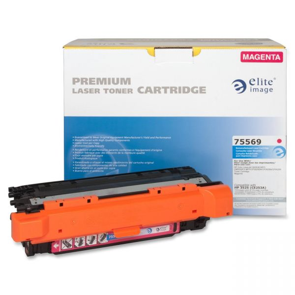 Elite Image Remanufactured HP CE253A Toner Cartridge