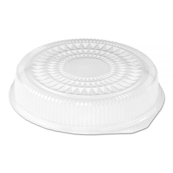 Handi-Foil of America Plastic Dome Takeout Container Lids