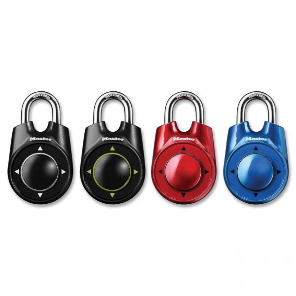Master Lock Speed Dial Combination Padlock