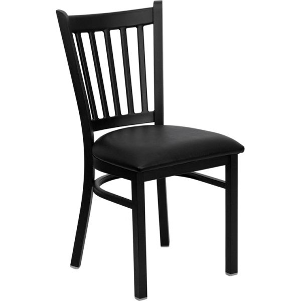Flash Furniture Vertical Back Metal Restaurant Chair
