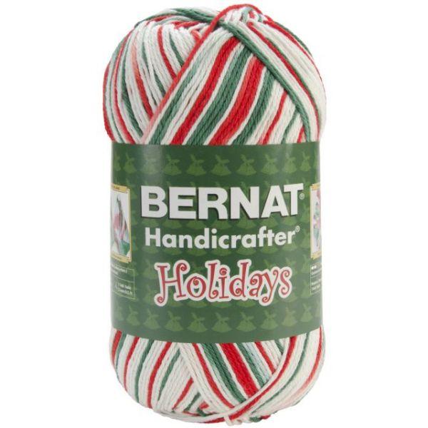 Bernat Handicrafter Holidays Cotton Yarn - Mistletoe
