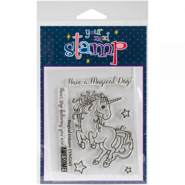 "Your Next Stamp Clear Stamps 3""X4"""