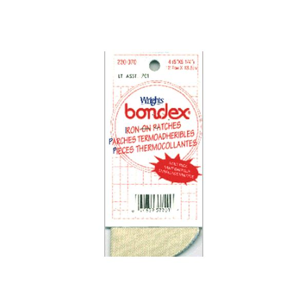 "Bondex Iron-On Patches 5""X5-1/4"" 4/Pkg"