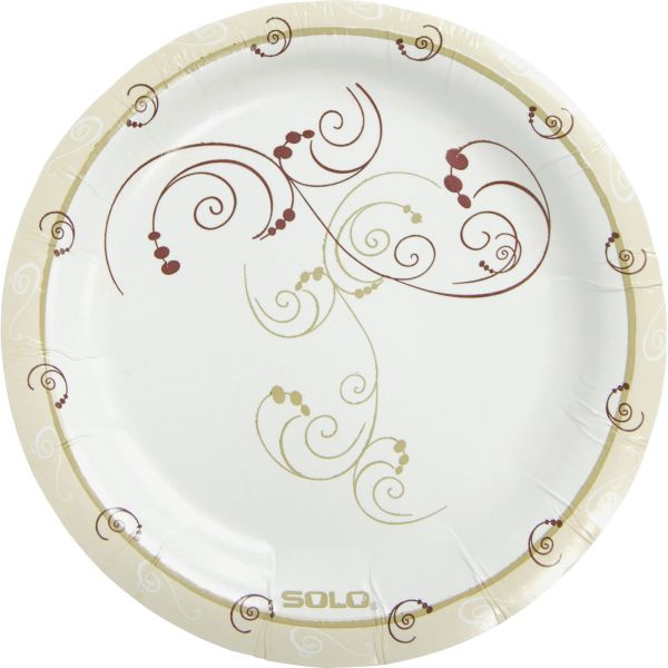 """Solo Heavyweight 6"""" Paper Plates"""