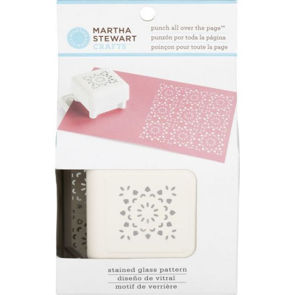 Martha Stewart Punch All Over The Page Pattern Punch