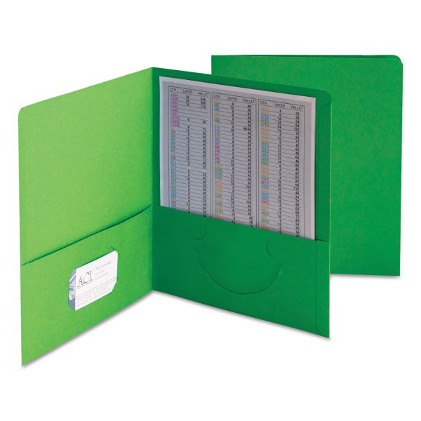 Smead Two-Pocket Heavyweight Folder