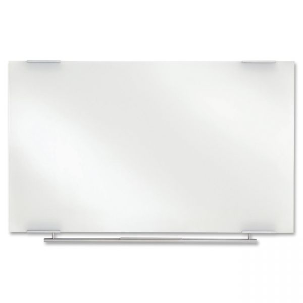"Iceberg 60"" x 36"" Clarity Ultra-White Glass Dry Erase Whiteboard"
