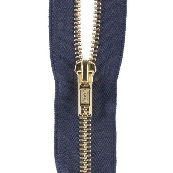 Heavyweight Brass Separating Metal Zipper