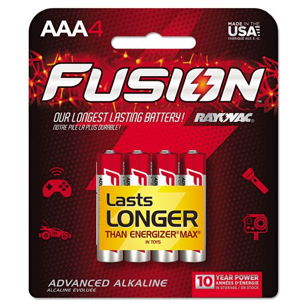 Rayovac Fusion Performance AAA Batteries