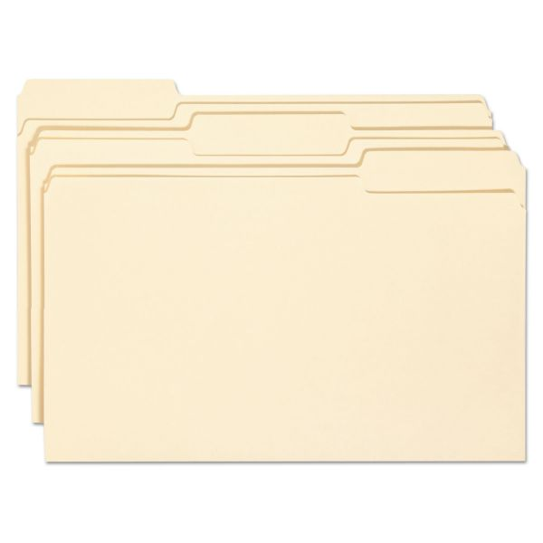 Smead 15338 Manila File Folders with Antimicrobial Product Protection