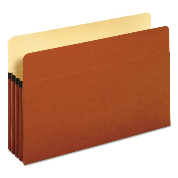 Pendaflex Standard Expanding File Pockets, Manila, Straight Cut, 1 Pocket, Legal, Redrope