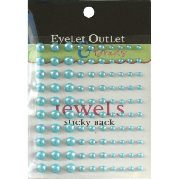 Bling Self-Adhesive Pearls Multi-Size 100/Pkg
