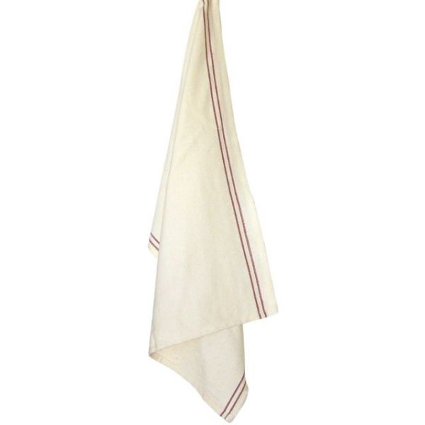 "Cream Vintage Towel 20""X28"""