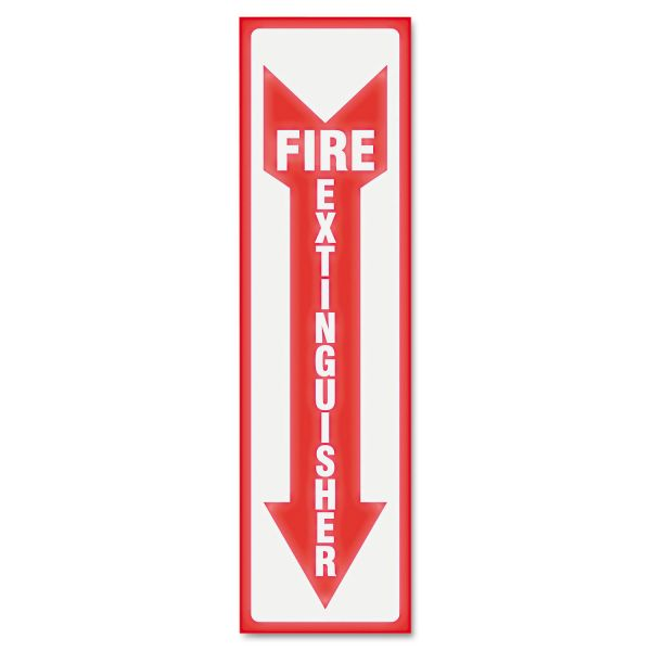 "U.S. Stamp & Sign ""Fire Extinguisher"" Sign"