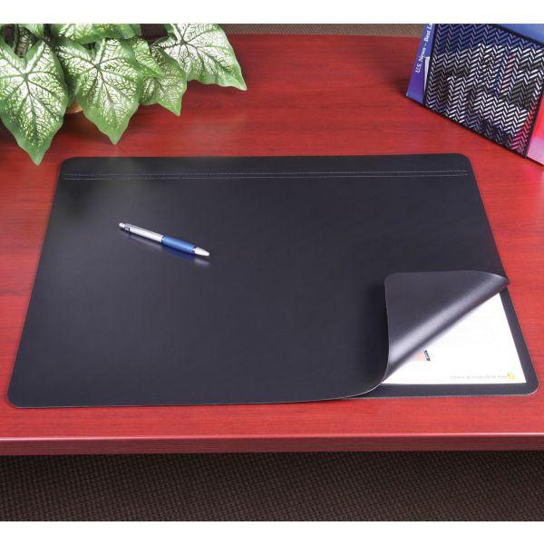 Artistic Hide-Away PVC Desk Pad, 24 x 19, Black