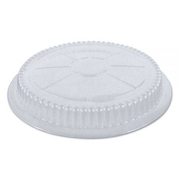 "Handi-Foil of America Plastic Dome Lid, 7/8"" X 8 1/4"", Clear, 500/Carton"