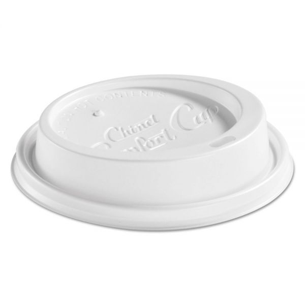 Chinet Plastic Dome Coffee Cup Lids