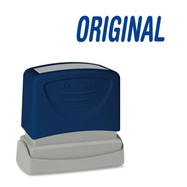 Sparco ORIGINAL Blue Title Stamp