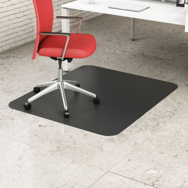 Deflect-o EconoMat Black Chair Mat