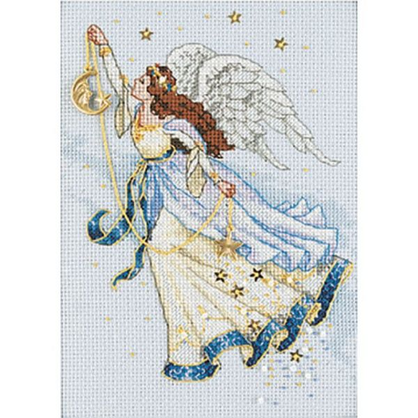 Dimensions Gold Petite Twilight Angel Counted Cross Stitch Kit