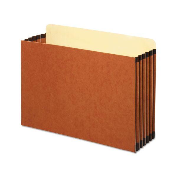 Pendaflex File Cabinet Pockets, Straight Cut, 1 Pocket, Legal, Redrope