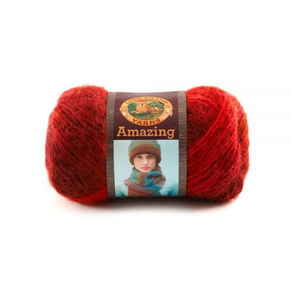 Lion Brand Amazing Yarn - Roses