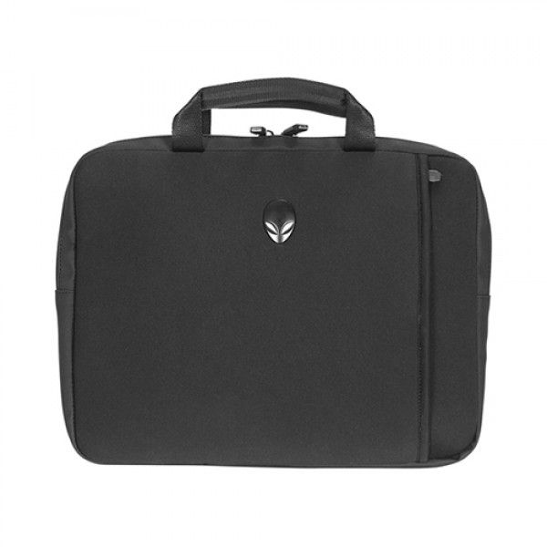 "Mobile Edge Alienware Vindicator Carrying Case (Sleeve) for 15"" Notebook, Flash Drive, Power Adapter, Gear - Black"