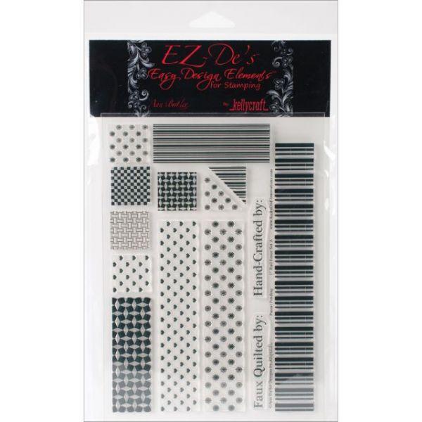 """EZ-De's Clear Stamps 6""""X8"""" Sheet"""