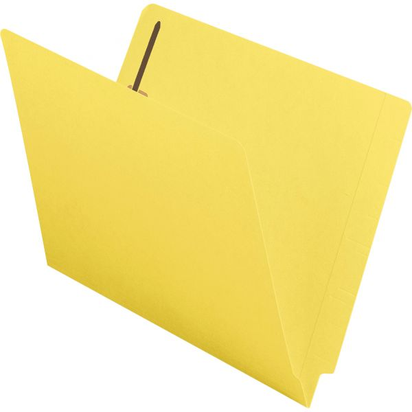 Smead End Tab File Folders With Fasteners