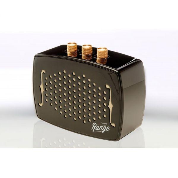 Bem Range Speaker System - Wireless Speaker(s) - Portable - Battery Rechargeable - Ebony