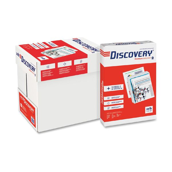 "Discovery Premium Multi-Purpose White 11"" x 17"" Copy Paper"