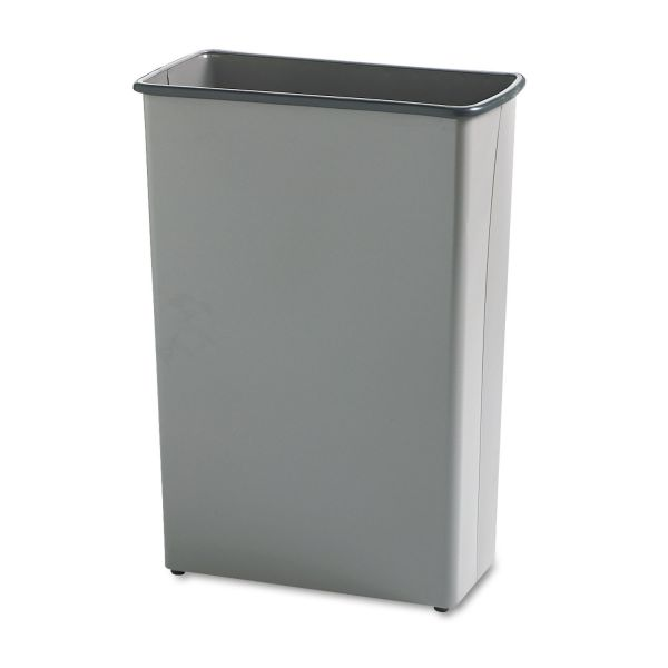 Safco Fire-Safe Rectangular 22 Gallon Trash Can
