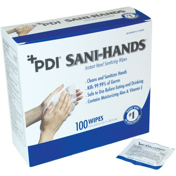 PDI Sani-Hands Disinfectant Hand Wipes