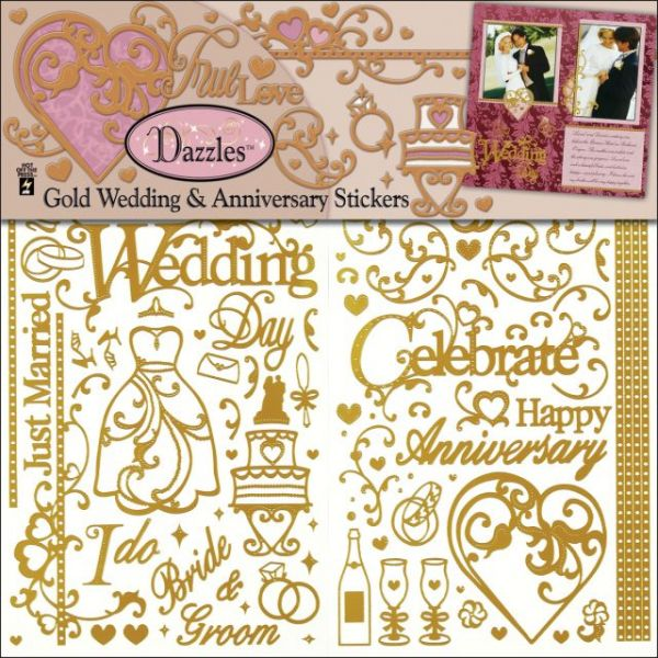 Dazzles Stickers 3/Pkg