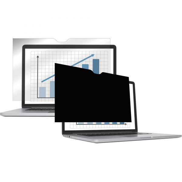 """Fellowes PrivaScreen Blackout Privacy Filter for 13"""" MacBook Air, 16:10 Aspect Ratio"""