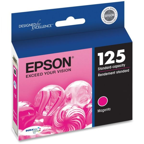 Epson 125 Magenta Ink Cartridge (T125320)