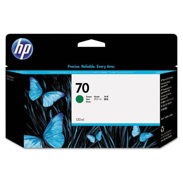 HP 70 Green Ink Cartridge (C9457A)