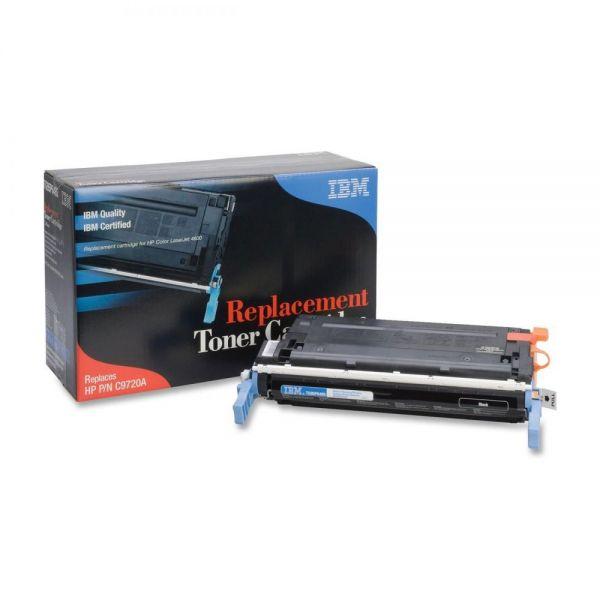 IBM Remanufactured HP C9720A Black Toner Cartridge