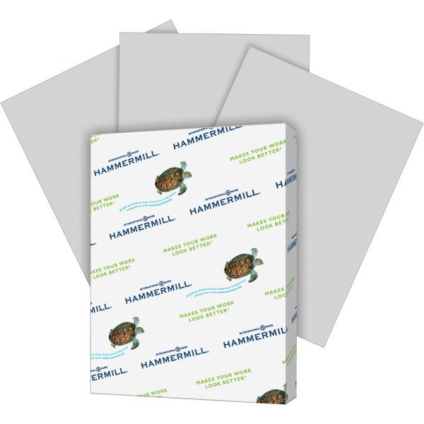 Hammermill Super-Premium Colored Paper - Gray