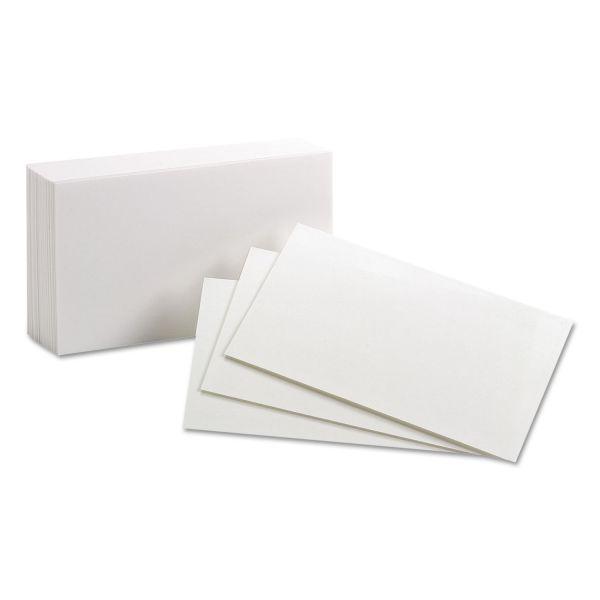 "Oxford 3"" x 5"" Blank Index Cards"
