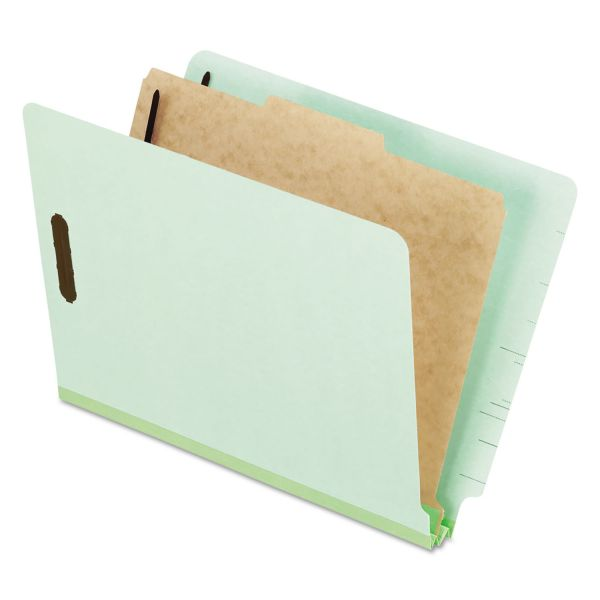 Oxford 1-Divider Pressboard Classification Folders