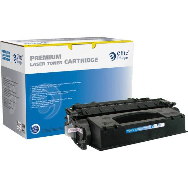 Elite Image Remanufactured HP 05X (CE505X) High Yield Toner Cartridge