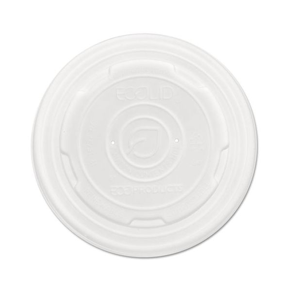 Eco-Products EcoLid Renew & Comp Food Container Lids, F/12,16, 32oz, 50/PK, 10 PK/CT