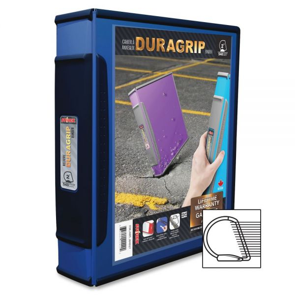 "Storex DuraGrip 2"" 3-Ring Binder"