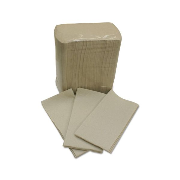 Cascades PRO Privilege Moka DRC Napkins/Guest Hand Towels, 1-Ply, 12 x 16, 100/Pack, 500/CT