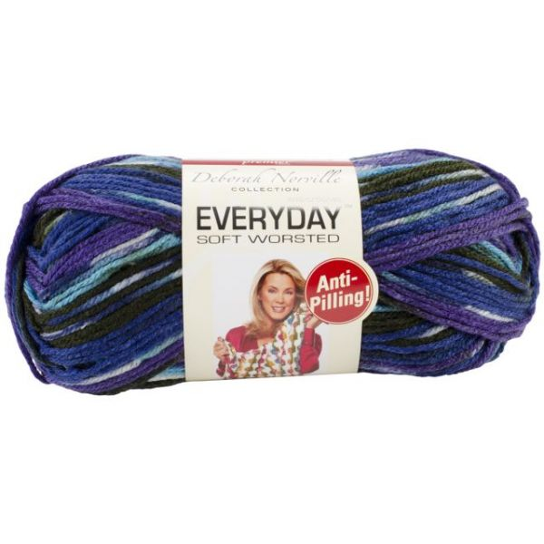 Deborah Norville Collection Everyday Soft Worsted Yarn - Cold Mountain