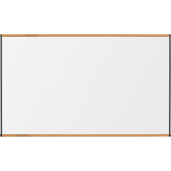 """Lorell 96"""" x 48"""" Magnetic Porcelain Dry Erase Whiteboard"""