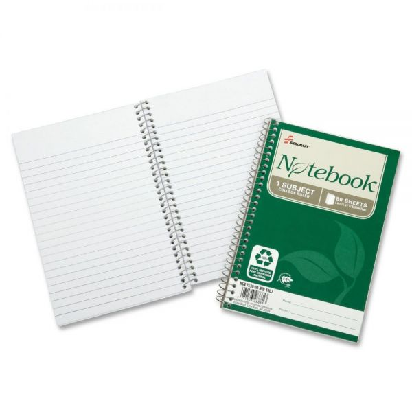 SKILCRAFT 1-Subject Spiral Notebooks