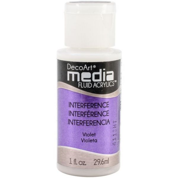 Deco Art Media Violet Fluid Acrylics