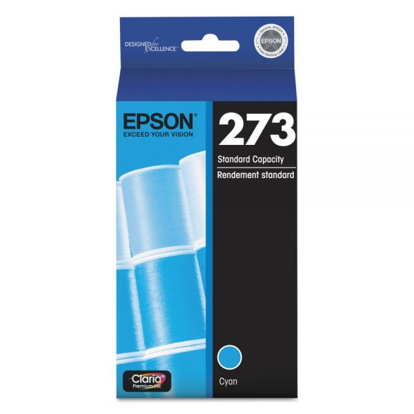 Epson 273 Claria Cyan Ink Cartridge (T273220)